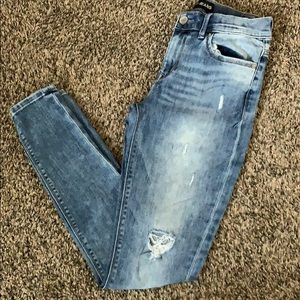 Express jean mid rise